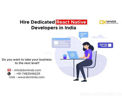 Hire Dedicated React Native Developers in India
