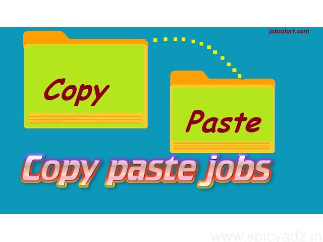 Copy paste job without investment Daily payment Rs. 2000/- - 1