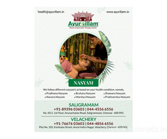Ayurillam - Nasyam Treatment in Chennai