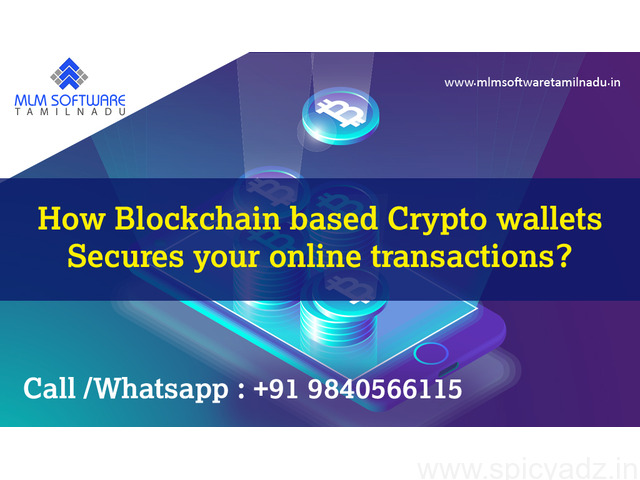 How Blockchain based Crypto wallets Secures your online transactions? - 1