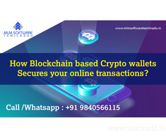 How Blockchain based Crypto wallets Secures your online transactions?