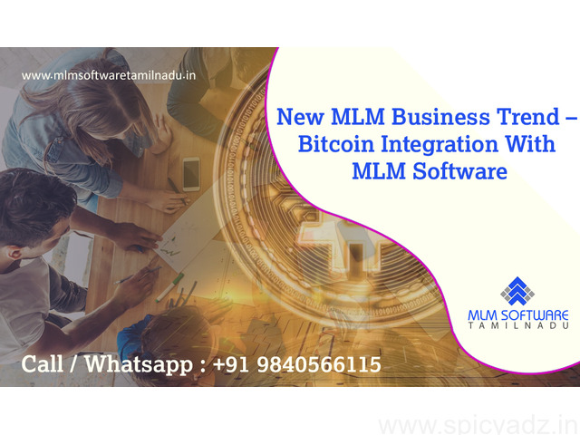New Mlm Business Trend – Bitcoin Integration With MLM Software – MLM Software Tamilnadu - 1