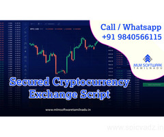 Secured Cryptocurrency Exchange Script – MLM Software Tamilnadu