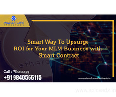 Smart Way To Upsurge ROI for Your MLM Business with Smart Contract – MLM Software Tamilnadu