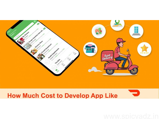 Cost of developing a food delivery app like Doordash | DxMinds - 1