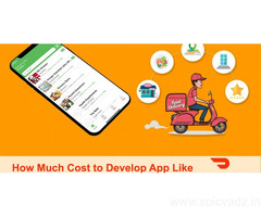 Cost of developing a food delivery app like Doordash | DxMinds