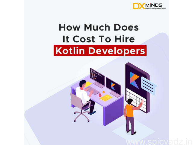 how much does it cost to hire kotlin developers? - 1