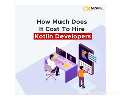how much does it cost to hire kotlin developers?