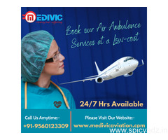 Use Tremendous ICU Air Ambulance Services in Allahabad by Medivic