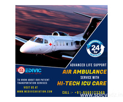 Ultimate Emergency ICU Air Ambulance Services in Ranchi by Medivic