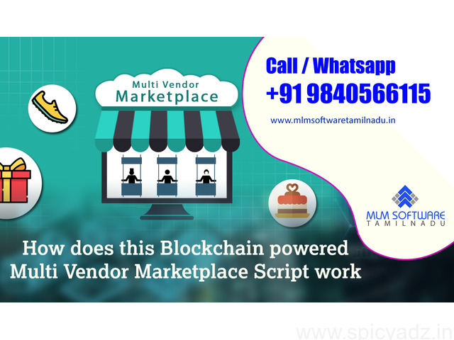 How does this Blockchain powered Multi Vendor Marketplace Script work? - 1