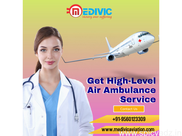 Get an Affordable Air Ambulance Service in Bangalore by Medivic - 1