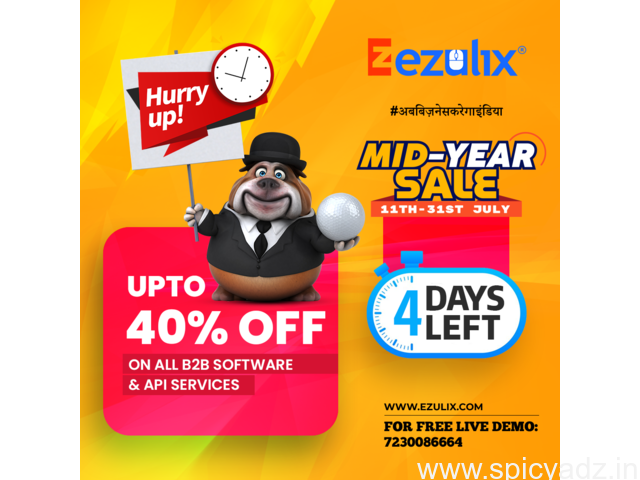 Mid-Year Sale is Expiring Soon - Save on B2B Fintech Software - 1