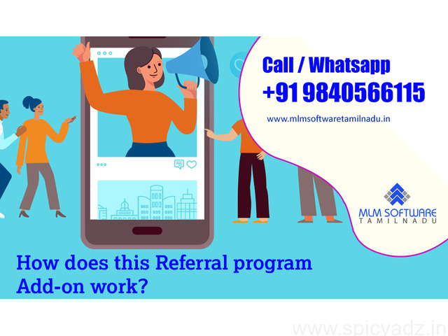 How does this Referral program Add-on work?-MLM Software tamilnadu - 1