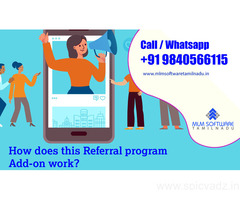 How does this Referral program Add-on work?-MLM Software tamilnadu