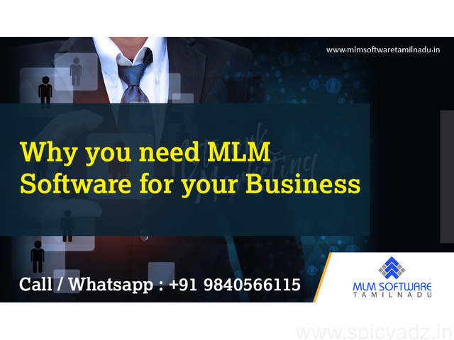 Why you need MLM Software for your Business-MLM Software tamilnadu - 1