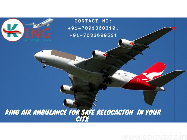 King Air Ambulance Service in Delhi with 24/7 Emergency Availability - 1