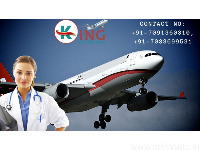 King Air Ambulance Service in Bangalore with Hi-Tech Medical Amenities - 1