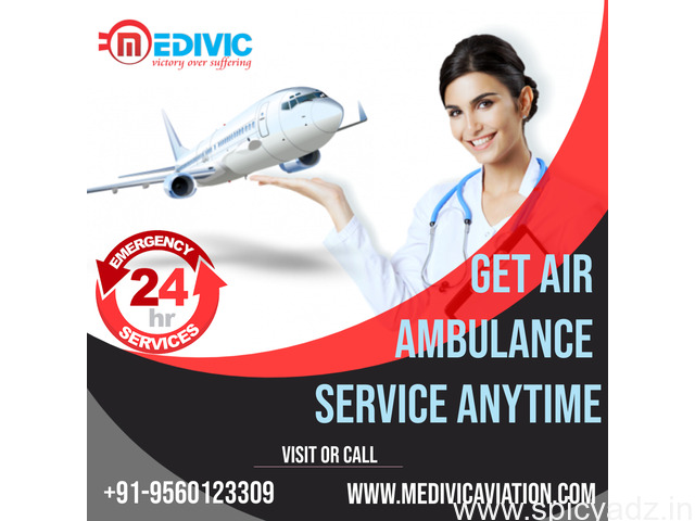 Top-Class Air Ambulance Services in Chennai with ICU Setup by Medivic - 1