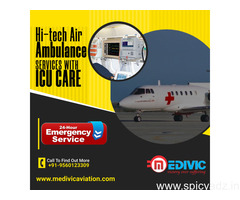 Take the Best Medivic Air Ambulance Service in Patna with Latest Medical Tools