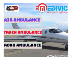 Book the Exceptional Air Ambulance in Allahabad with ICU by Medivic