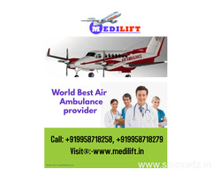Get Quickest Emergency Air Ambulance Service in Chennai with Modern Support by Medilift