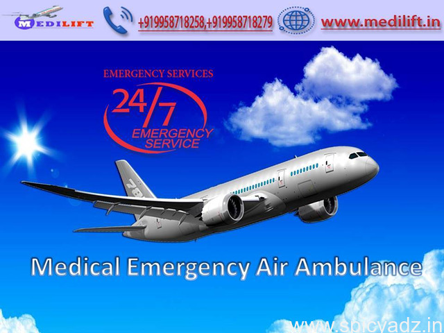 Get Medilift Air Ambulance Service in Delhi – Trustworthy and Reliable - 1