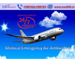 Get Medilift Air Ambulance Service in Delhi – Trustworthy and Reliable