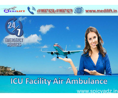 Superior and Affordable Air Ambulance Service in Patna by Medilift