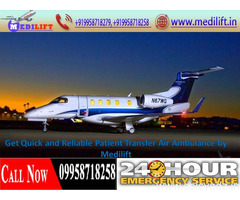 Fully Medical Supported Air Ambulance from Ranchi – Medilift