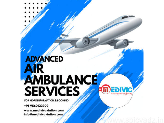Get Top-Grade Charter Air Ambulance Services in Chennai by Medivic - 1