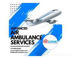 Get Top-Grade Charter Air Ambulance Services in Chennai by Medivic