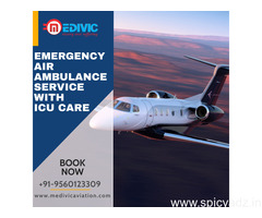 Utilize Top-Listed Air Ambulance Service in Patna with Physician by Medivic