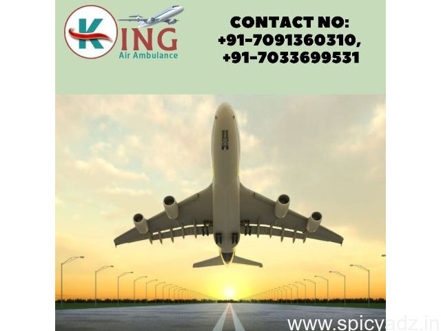 Charter Air Ambulance Service in Mumbai at Logical Price with ICU - 1