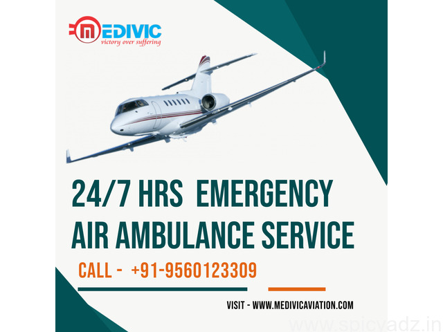 Utilize ICU Medical Charter Air Ambulance Service in Bangalore by Medivic - 1