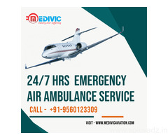 Utilize ICU Medical Charter Air Ambulance Service in Bangalore by Medivic