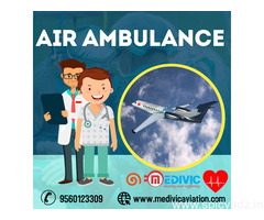 Pick Top-Raking Medivic Air Ambulance Service in Patna with Trained Medical Team