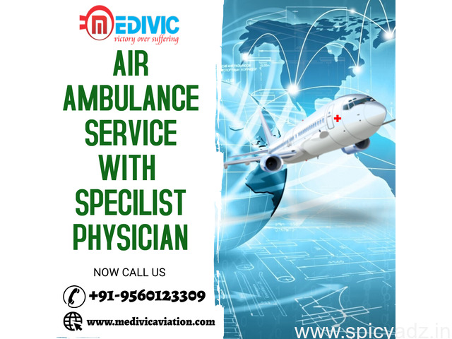 Obtain ICU Medical Care by Medivic Air Ambulance Services in Patna - 1