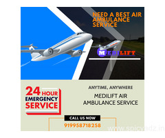 Use the Best Air Ambulance in Chennai with Specific Tools through Medilift