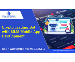 Crypto  Trading BOT with mlm mobile app development