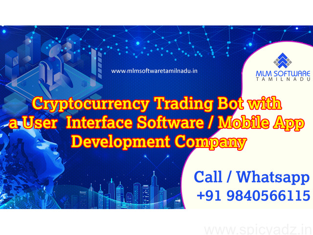 Cryptocurrency Trading Bot with a User Interface Software OR Mobile App Development Company - 1