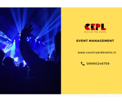 Best corporate event management company in Delhi
