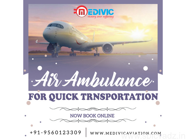 Proper Prominence on Safety by Medivic Air Ambulance in Patna - 1