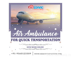 Proper Prominence on Safety by Medivic Air Ambulance in Patna