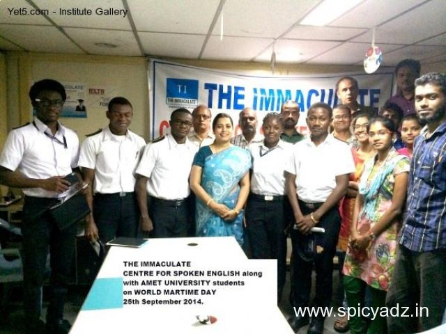THE IMMACULATE English fluency IELTS TOEFL GMAT GRE SAT PMP Certification - 1