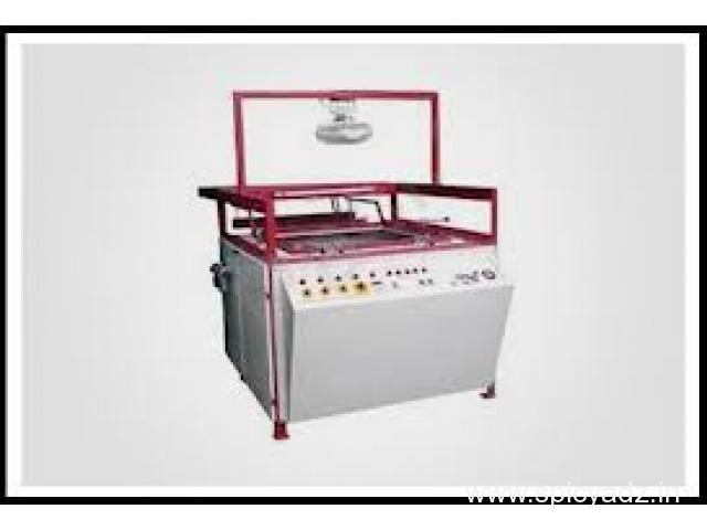 Free Training Thermocol, Fiber, Disposable Plate Dona Thali Machine - 1