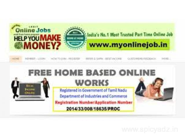Just Give Miss Call to 9043380999 & Earn Rs.1000/- Daily from Home - 1