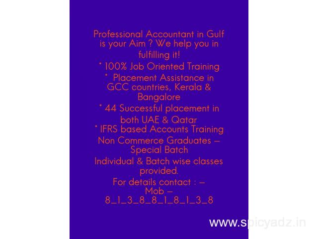 Come as a fresher & be a Professional Accountant once you complete our course! - 1