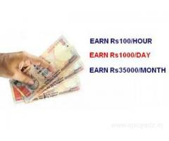 Earn Rs.30000/- every month from home