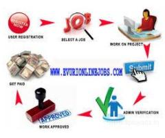 Home Based Computer Typing job, Home Based Data Entry Operator, Data Entry
